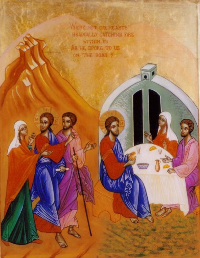 Le Christ fait route avec nous